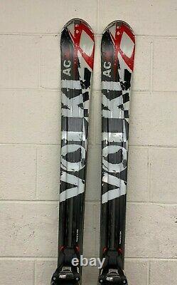 Volkl Unlimited AC30 177cm 124-80-107 r=18.4mm Skis withMarker Wideride Bindings