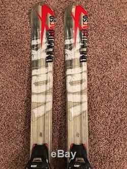 Volkl Unlimited AC50 163cm Skis WithMarker IPT Wideride Bindings