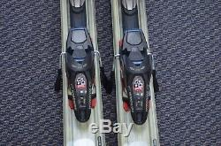 Volkl Unlimited AC50 170cm Pair of Downhill Skis with Marker Wideride iPT Bindings