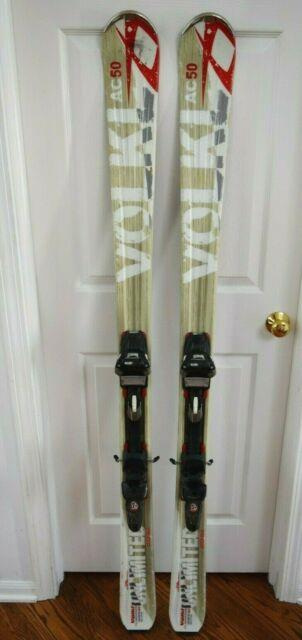 Volkl Unlimited Ac50 Skis Size 170 Cm With Marker Bindings