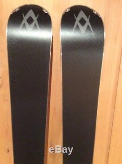 Volkl V-Werks RTM 84 Skis WithMarker Bindings 181cm Used Excellent Condition