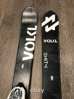 Volkl Wall 128 Youth Skis Marker Bindings