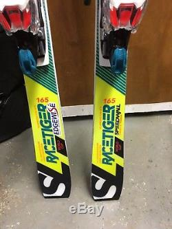 Volkl World Cup Racetiger SL 165 cm Skis + Marker Xcell 16 Bindings