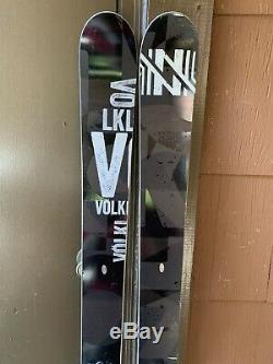 Volkl kendo 170cm Long With Original Marker Bindings