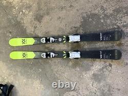 Völkl skis with Marker bindings(138cm)