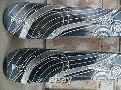 Women's 155CM 153, K2 LUV MYSTIC Skis with MARKER MOD 10.0 BINDINGS, DIN 2.5-10