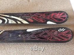 Womens K2 Skis Free Luv 163cm With Marker Bindings