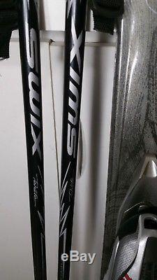 Womens K2 True Luv 146cm Ski + Marker Mod 10.0 Bindings + Swix 125 cm Ski Poles